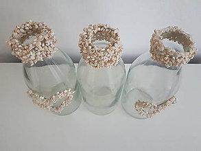 Dekorácie - váza s kamienkami - 11226137_