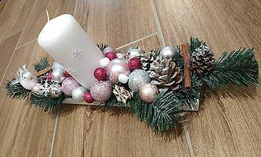 Nezaradené - Vianočný svietnik - 11226593_