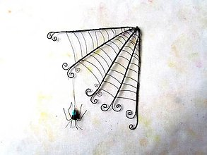 Dekorácie - pavučina - 11223031_