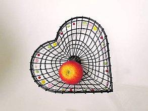 Košíky - Košík Srdce * 22 cm - 11224103_