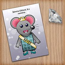 Papiernictvo - Zápisník pre skutočnú Myšš - 11226905_