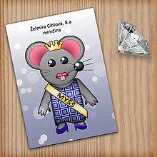 Papiernictvo - Zápisník pre skutočnú Myšš  (7) - 11226911_