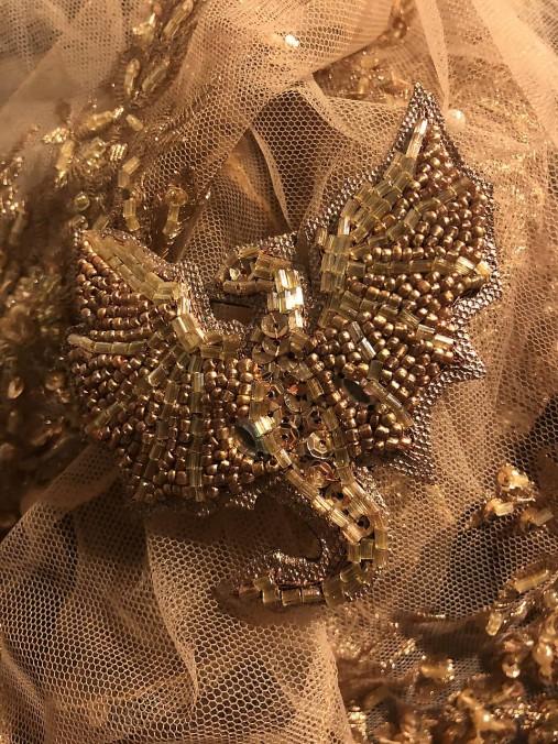 Brošňa Drako zlatá