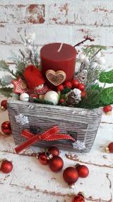 Dekorácie - Adventny svietniky - 11228665_