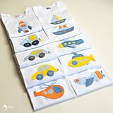 Detské oblečenie - body AUTÍČKO (dlhý/krátky rukáv) - 11230659_
