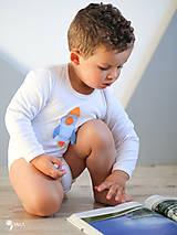 Detské oblečenie - body RAKETA (dlhý/krátky rukáv) - 11230807_