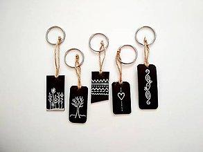 Kľúčenky - Kožená kľúčenka pre potešenie :) - 11228436_