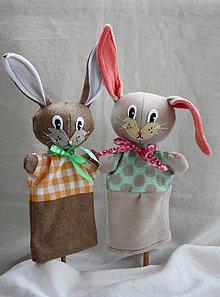 Hračky - Maňuška. Zvieratko Zajačik Hopi z čarovného lesa - 11228457_
