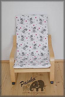 Úžitkový textil - Potah na dětské křesílko Ikea Poang (PL látka) bez polštářku - 11227769_