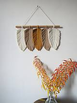 - Makramé závesná dekorácia INDIANSUMMER - 11227907_