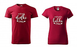 Tričká - Najlepší dedko / Najlepšia babka - tričká pre starých rodičov - 11230093_