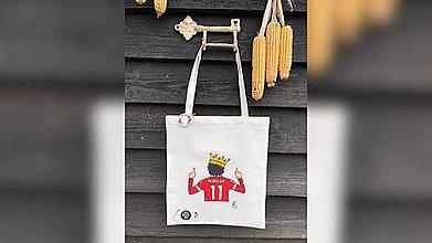 Iné tašky - ♥ Plátená, ručne maľovaná taška ♥ - 11229970_