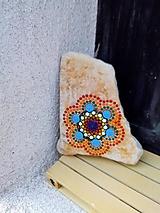 Dekorácie - Happy - Na kameni maľované - 11230030_