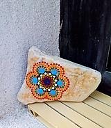 Dekorácie - Happy - Na kameni maľované - 11230031_