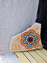 Dekorácie - Happy - Na kameni maľované - 11230034_