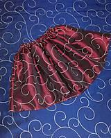 Detská taftová suknička