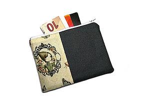 Peňaženky - taštička do kabelky 15,5x11cm - 11230156_