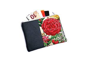 Peňaženky - taštička do kabelky 15,5x11cm - 11230218_