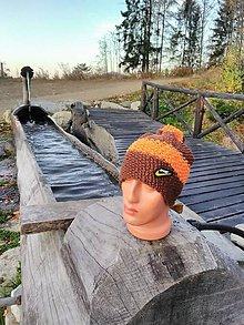 Čiapky - Ručne pletené čiapky - 11229468_