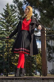 Sukne - Ručne plisovaná sukňa – Nina - 11227688_