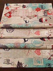 Úžitkový textil - Vianočný obrus - 11230846_