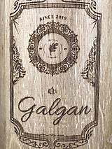 Iné - Galgan dubová fľaša - 11228596_