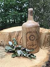 Iné - Galgan dubová fľaša - 11228598_