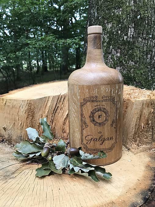 Galgan dubová fľaša