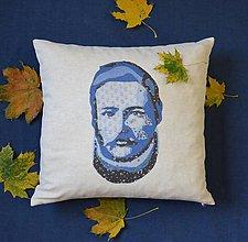 """Úžitkový textil - Vankúš """"Najväčší Slovák - Ludevít"""" - 11228468_"""