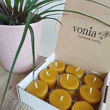 Svietidlá a sviečky - Zero waste škatuľka zo včelieho vosku (9+1) - 11232880_