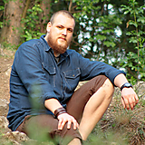 Oblečenie - Ľanová košeľa Leslav modrá s vreckami - 11233369_