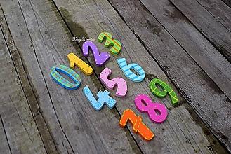 Detské doplnky - magnetické číslice - 11233776_