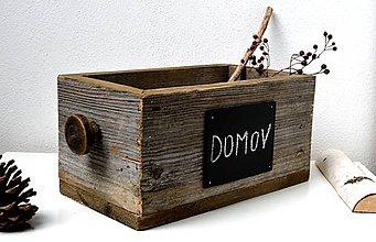 Nábytok - Debnička zo starého dreva - 11232259_