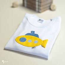 Detské oblečenie - body PONORKA (dlhý/krátky rukáv) - 11233811_