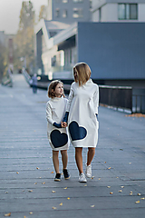 """Detské oblečenie - Teplákové šaty/tunika """"mama a dcéra"""" Glace - 11232504_"""