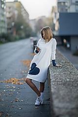 """Detské oblečenie - Teplákové šaty/tunika """"mama a dcéra"""" Glace - 11232562_"""
