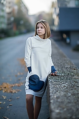 """Detské oblečenie - Teplákové šaty/tunika """"mama a dcéra"""" Glace - 11232569_"""