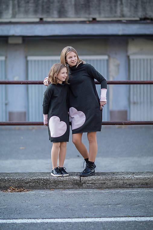 """Teplákové šaty/tunika """"mama a dcéra"""" Neopen"""