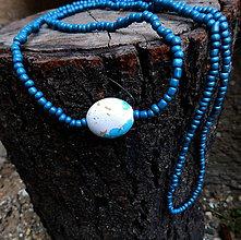 Náhrdelníky - korálkový náhrdelník / darček k nákupu - 11234607_