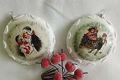 Dekorácie - Vianočné ozdoby - Deti v zime II. - 11232738_