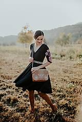 Šaty - čierne úpletové šaty Poľana - 11233966_
