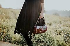 Šaty - čierne madeirové šaty Slavianka - 11234303_