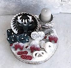 """Dekorácie - Vianoce u Wilsona :-) alebo """"servírovaný Jeleň"""" trochu  inak - 11233892_"""