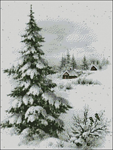 Návody a literatúra - K176 Zimná krajinka - 11231482_