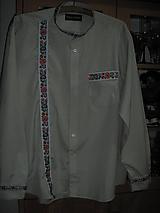 Košele - Pánska košeľa - 11233598_
