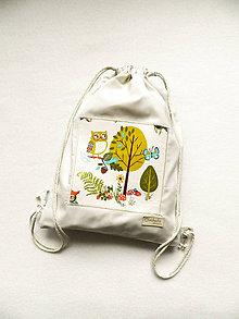 Detské tašky - Batoh so sovičkou  3-6r. - 11233030_