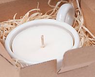 Svietidlá a sviečky - Svietnik na veľkú čajovku - zero waste - 11231401_