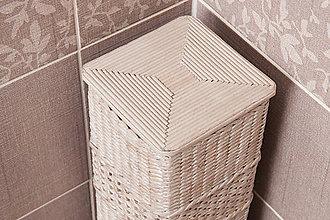 Krabičky - Zásobník na toaletný papier s otvorom - 11231837_