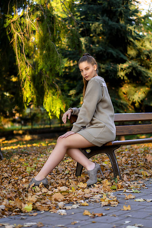 Mikina MOCCA light brown