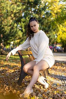 Mikiny - Mikina MOCCA cream - 11234757_